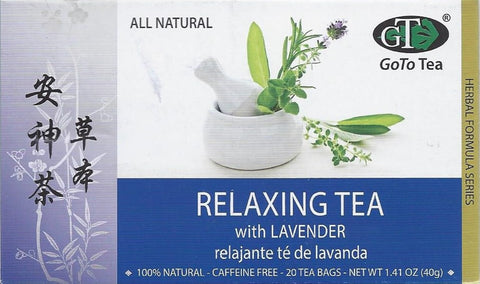 Relaxing Tea with Lavender