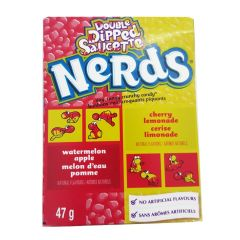 Wonka Nerds Cherry Lemonade & Watermelon Apple 46.7g - First Class Learning Bradford