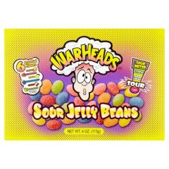 Warheads Sour Jelly Beans Theatre Box 113g - First Class Learning Bradford
