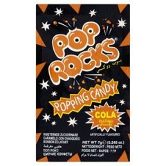 Pop Rocks Cola Popping Candy 7g - First Class Learning Bradford