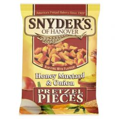 Snyders Honey Mustard & Onion Pretzel Pieces 125g - First Class Learning Bradford