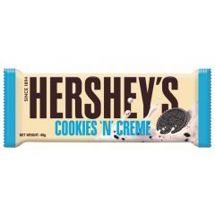 Hershey's Cookies 'N' Creme Bars 40g - First Class Learning Bradford