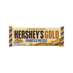 Hershey's Gold Caramelized Creme Bar 39g - First Class Learning Bradford