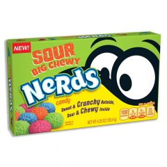 Nerds Sour Big Chewy Candy Theatre Box 120.4g - First Class Learning Bradford