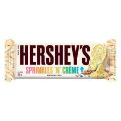 Hershey's Sprinkles 'N' Creme Birthday Cake Bar 39g - First Class Learning Bradford