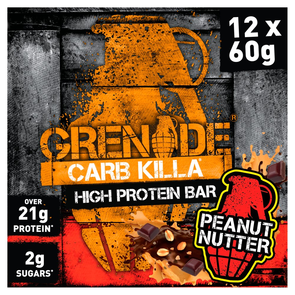 Grenade Carb Killa High Protein Bar Peanut Nutter