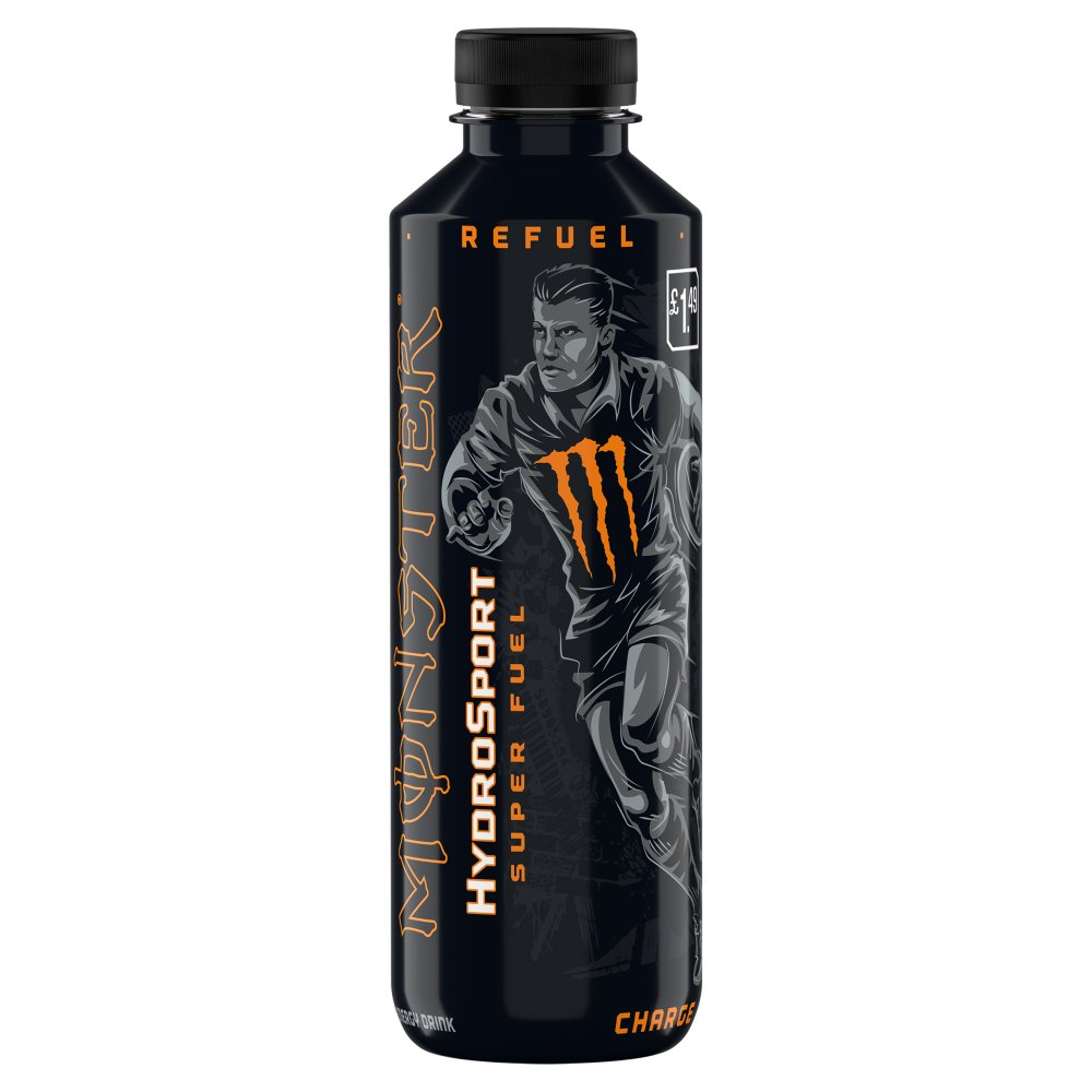 Monster HydroSport Charge 650ml Bottle PM £1.49