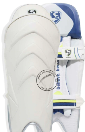 SG Megalite Wicket Keeping Leg Guard Pads Mens Size