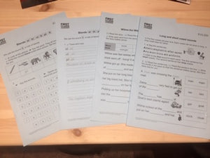 Maths & English Work Book Bundle (5 for the price of 4!) - First Class Learning Bradford
