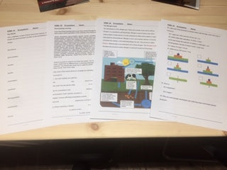 Science Work Book Bundle (5 for the price of 4!) - First Class Learning Bradford