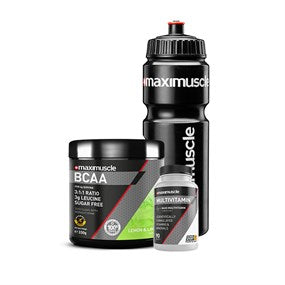Maximuscle BCAA Essentials Bundle Lemon and Lime, Unflavoured