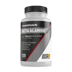 Maximuscle Beta-Alanine Amino Acid Supplement Capsules 120 Pack