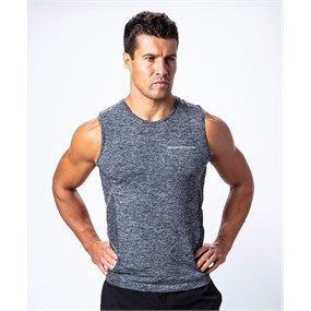 Maximuscle Mens Sports Vest Grey