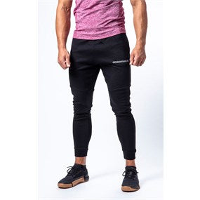 Maximuscle Mens Tapered Tracksuit Bottoms