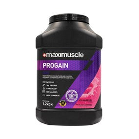 Maximuscle Progain Protein Powder for Size and Mass (Vanilla, Banoffee, Strawberry, Chocolate)