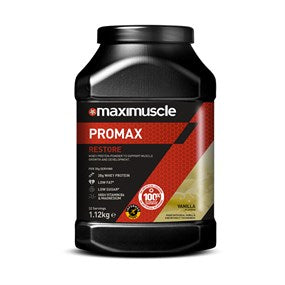 Maximuscle Promax Restore Whey Protein Powder (Strawberry, Chocolate, Vanilla)