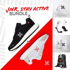 Bodyline Trainer Black + White Bundle (Kids 4-6)