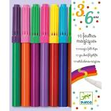 Djeco 10 Magic Felt Tips - First Class Learning Bradford