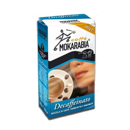 Mokarabia Decaffeinated Ground Coffee 100% Arabica (250g) - First Class Learning Bradford