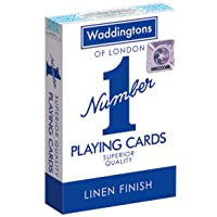 "Waddingtons ""Number 1"" Playing Cards (Colours may vary) - First Class Learning Bradford"