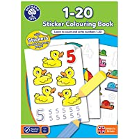 Orchard Toys 1-20 Sticker Colouring Book - First Class Learning Bradford
