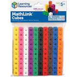 Learning Resources Mathlink Cubes Set of 100 - First Class Learning Bradford