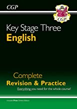New KS3 English Complete Study & Practice (with Online Edition) (CGP KS3 English) - First Class Learning Bradford
