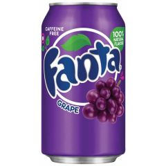 Fanta Grape Soda Cans 355ml - First Class Learning Bradford