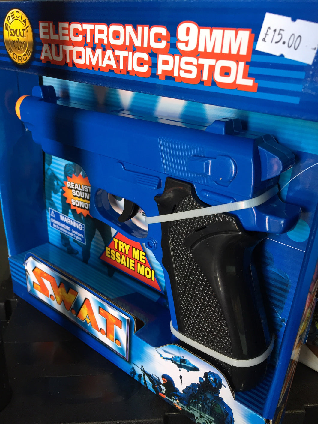 Electronic Pistol - First Class Learning Bradford