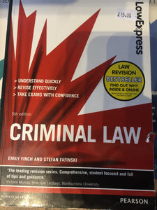 Criminal law - First Class Learning Bradford