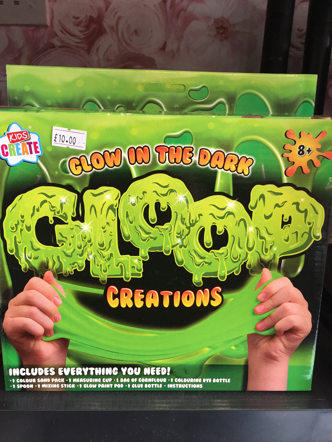 Glow in the dark Gloop - First Class Learning Bradford