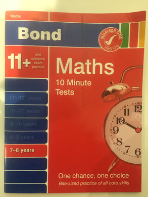 BOND 11+ MATHS - First Class Learning Bradford
