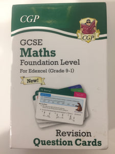 GCSE Maths revision cards foundation - First Class Learning Bradford