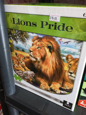Lions pride jigsaw - First Class Learning Bradford