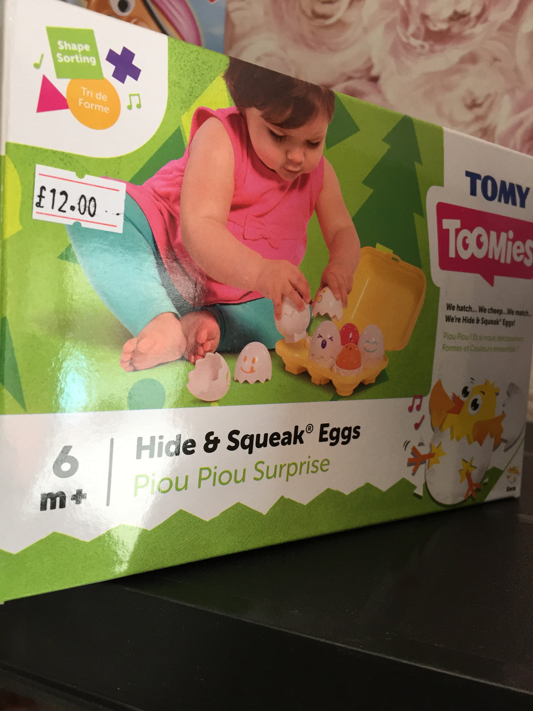 Hide and squeak eggs - First Class Learning Bradford