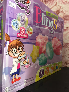 Bling soap - First Class Learning Bradford