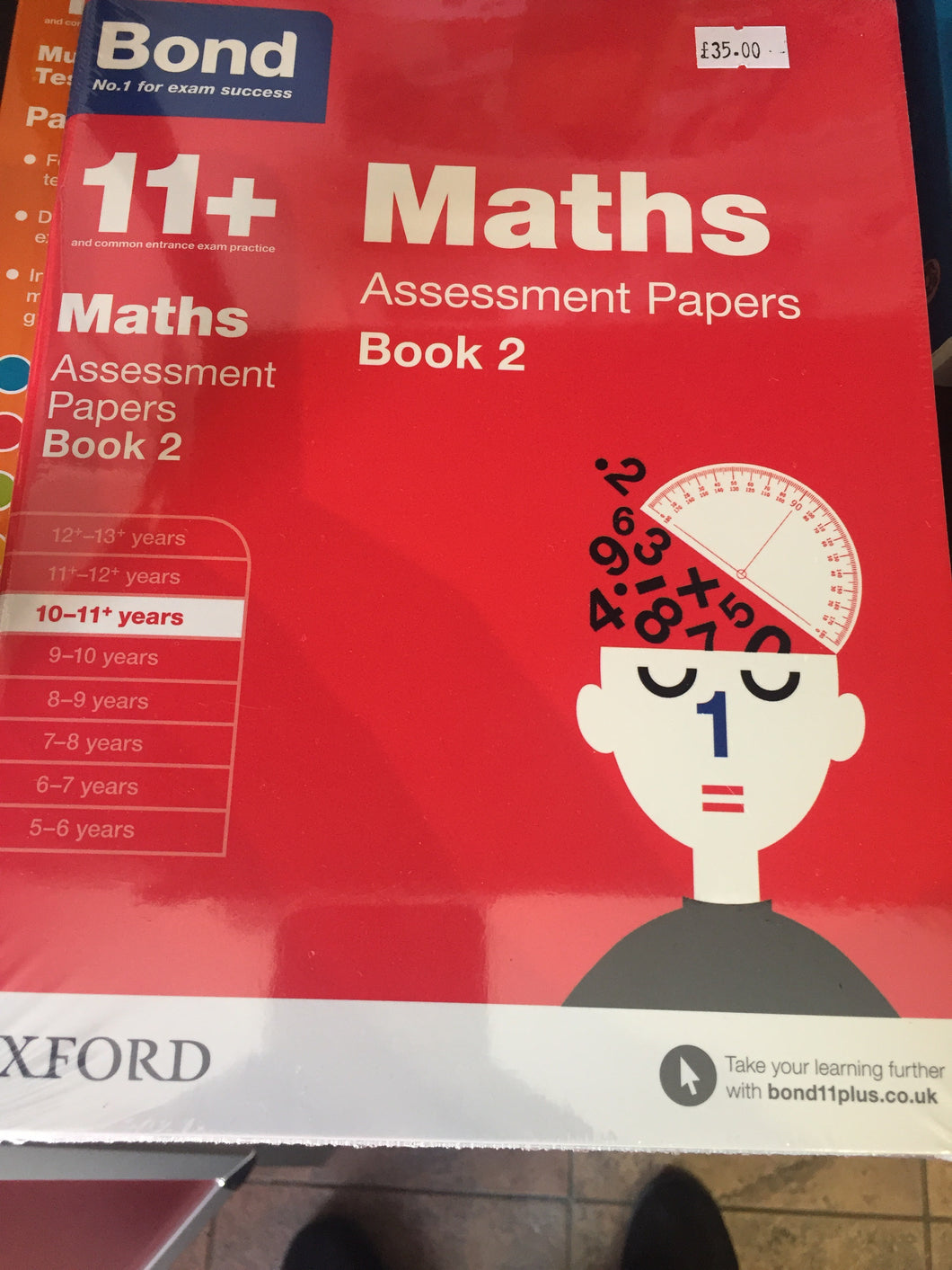 Bond 11 plus maths test papers book 2 - First Class Learning Bradford