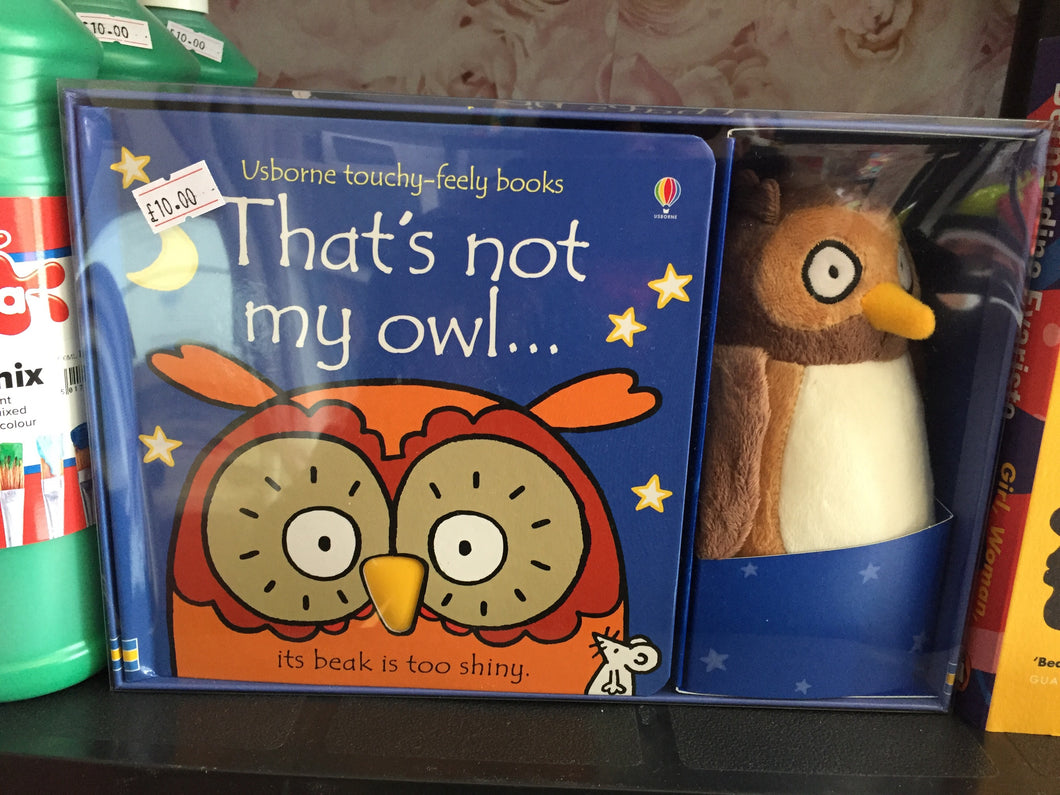 That's not my owl book - First Class Learning Bradford