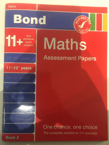 Bond Maths 11 + - First Class Learning Bradford