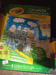 Crayola colouring book - First Class Learning Bradford
