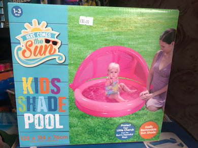 Kids shade pool - First Class Learning Bradford