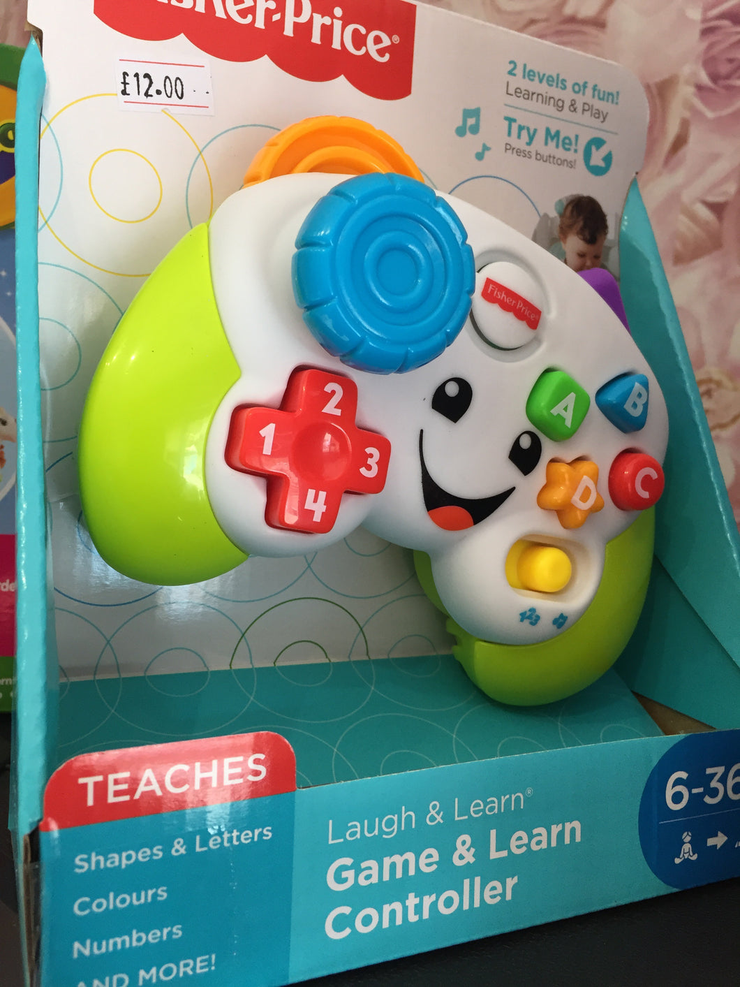 Game & Learn controller - First Class Learning Bradford