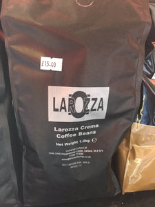 Larizza Crema Coffee Beans 1kg - First Class Learning Bradford