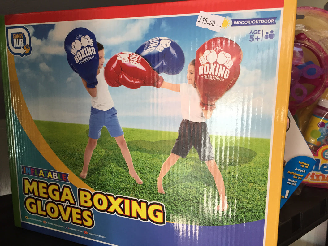 Mega gloves - First Class Learning Bradford