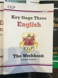 KS3 English Work Book - First Class Learning Bradford