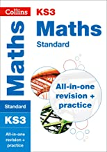 KS3 Maths Foundation Level All-in-One Complete Revision and Practice: Prepare for Secondary School (Collins KS3 Revision) - First Class Learning Bradford