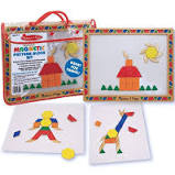 Melissa and Doug Magnetic Pattern Block Kit - First Class Learning Bradford