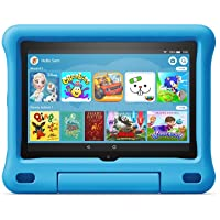 "All-new Fire HD 8 Kids Edition tablet | 8"" HD display, 32 GB, Blue Kid-Proof Case - First Class Learning Bradford"