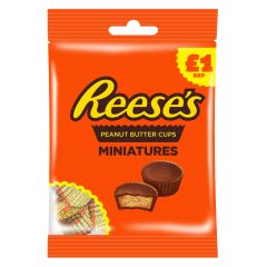Reese's Peanut Butter Cups Miniatures Bag £1 PMP - First Class Learning Bradford