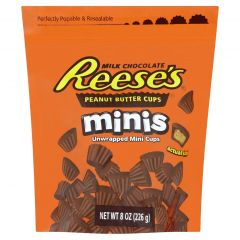 Reese's Mini Peanut Butter Cups Pouch 226g - First Class Learning Bradford